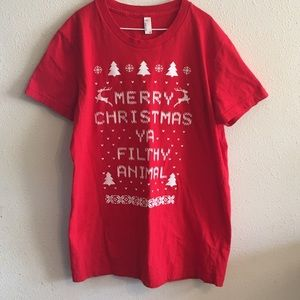 Women's American Apparel XMAS Tee 2XL (runs small)